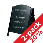 Chalk A-Board 2-pack